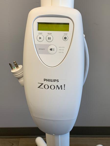 zoom teeth whitening machine